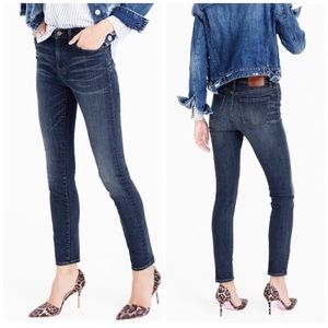 J. Crew High-Rise Lookout Jean In Travers Wash